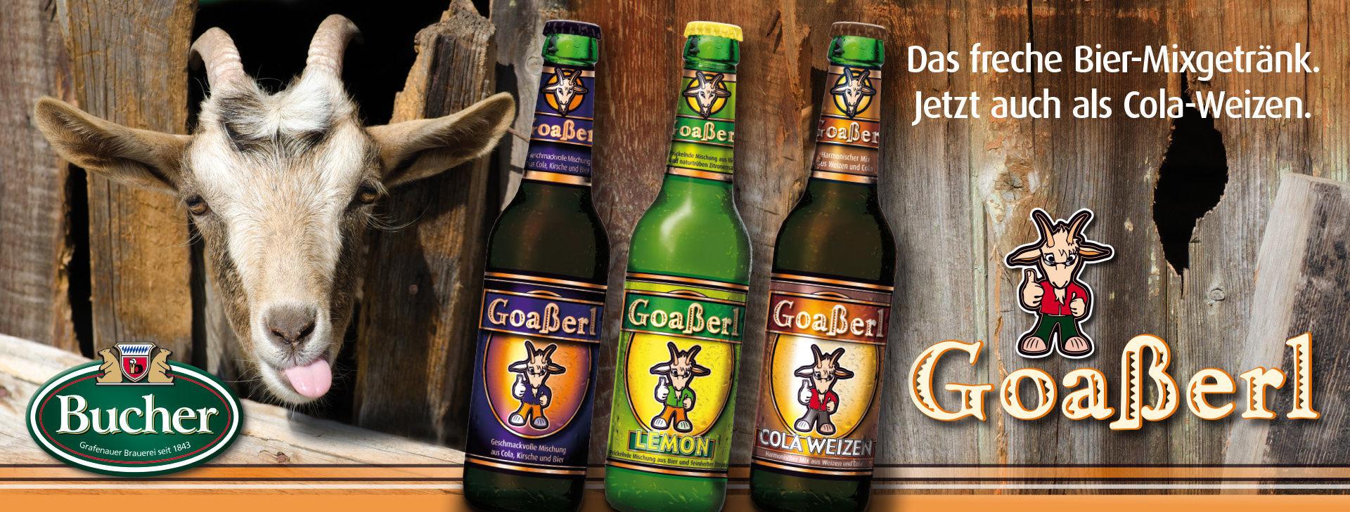 Goaßerl Bucher Bräu Grafenau Brauereien Freyung-Grafenau Bayern